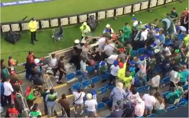 Pakistan and Afghanistan fans engage in ugly fight post former's 3-wicket victory at Headingley | Cricket World Cup 2019