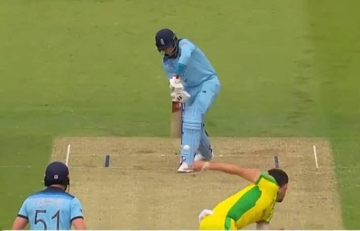Joe Root dismissal vs Australia: Watch England batsman gets caught right in front of stumps by Mitchell Starc's inswinger   England vs Australia