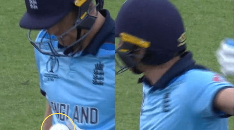 Cricket World Cup news: England captain Eoin Morgan reveals why Jos Buttler was checking the ball after his dismissal
