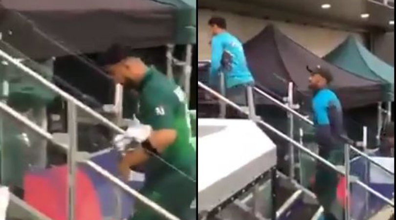 Angry Pakistani Cricket fans vent their frustration at Shoaib Malik and Co. after Pakistan's loss against India at Manchester