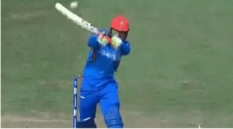 Rashid Khan six off Marcus Stoinis: Watch Afghanistan spinner hits towering six during Afghanistan vs Australia 2019 World Cup match