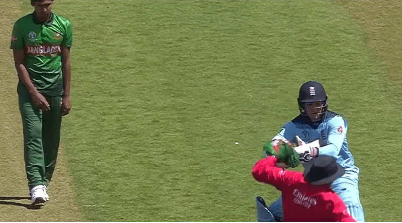 Jason Roy hits umpire: WATCH England batsman's clash against umpire upon reaching his Century against Bangladesh.