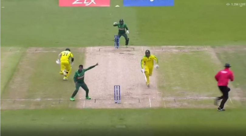 WATCH: Sabbir Rahman fumbles at boundary to hand David Warner a lifeline early in his innings | Australia vs Bangladesh