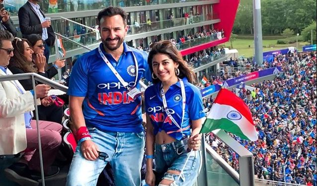 Saif Ali Khan hurled with repeated abuses by Pakistani fan post India vs Pakistan match at Manchester   Cricket World Cup 2019