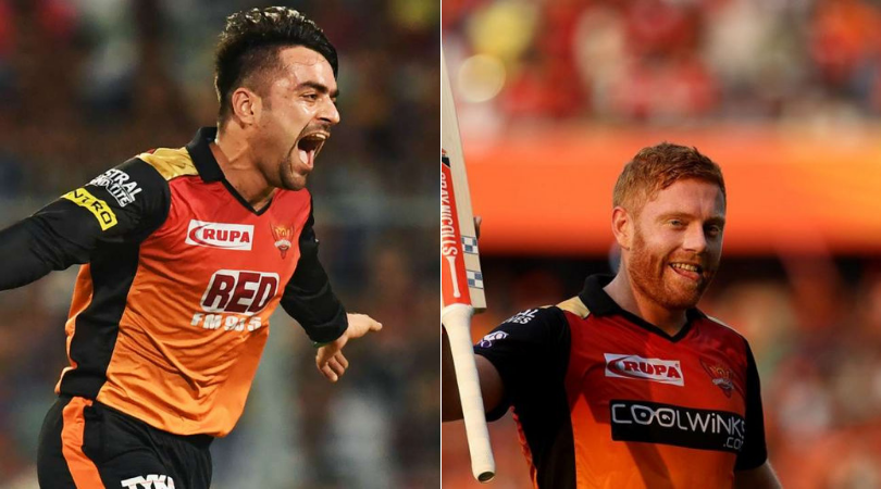 CSK and SRH engage in hilarious Twitter battle over Rashid Khan and Jonny Bairstow during England vs Afghanistan match | Cricket World Cup 2019