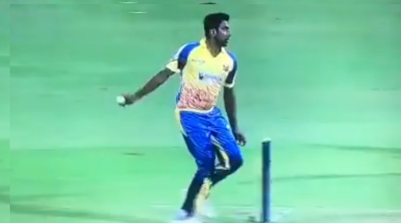 WATCH: Ravi Ashwin bowls with peculiar action for Dindigul Dragons in Tamil Nadu Premier League