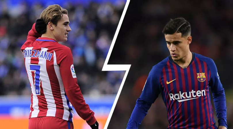 What does Barcelona handing Griezmann the no.7 shirt mean for Coutinho?