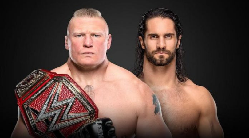 Seth Rollins Vs Brock Lesnar set for SummerSlam