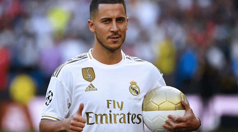 Eden Hazard's jersey number revealed   Real Madrid News