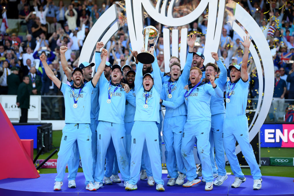 WATCH: England celebrations after winning 2019 ICC Cricket World Cup