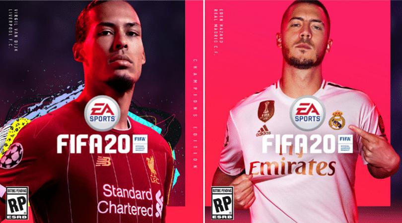 FIFA 20 Cover Star: Eden Hazard and Virgil Van Dijk unveiled as FIFA 20 cover stars