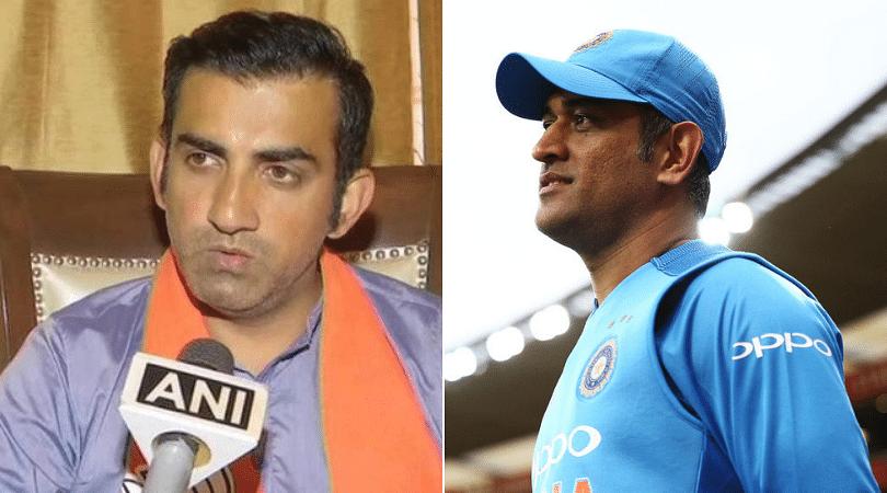 Gautam Gambhir wants selectors to look ahead of MS Dhoni post 2019 Cricket World Cup
