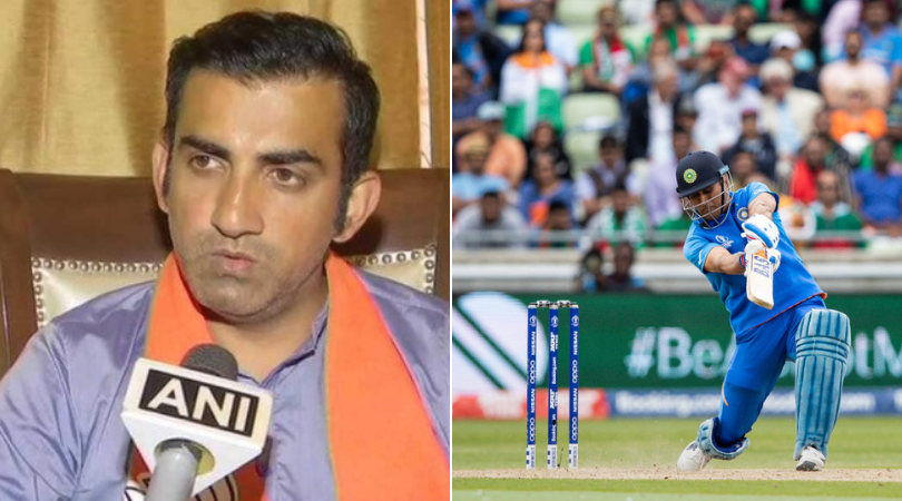 Gautam Gambhir suggests MS Dhoni-related change to Indian team for tour of West Indies