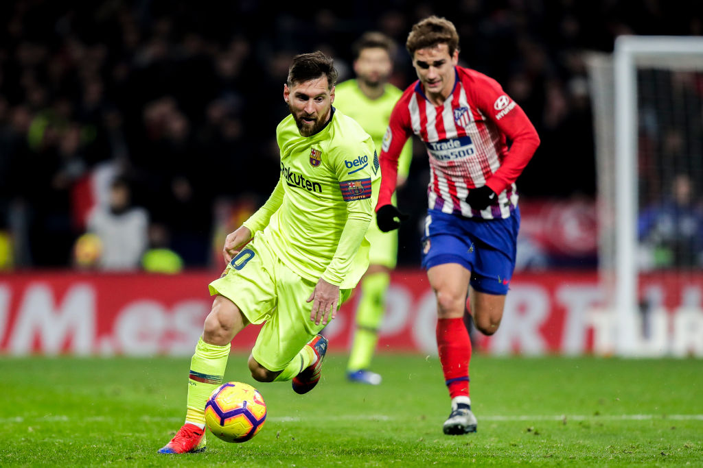 Antoine Griezmann contradicts his own last summer statement while speaking on Lionel Messi