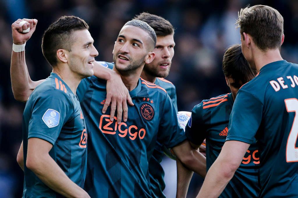 Man Utd Transfer News: Ajax superstar dismisses Manchester United links