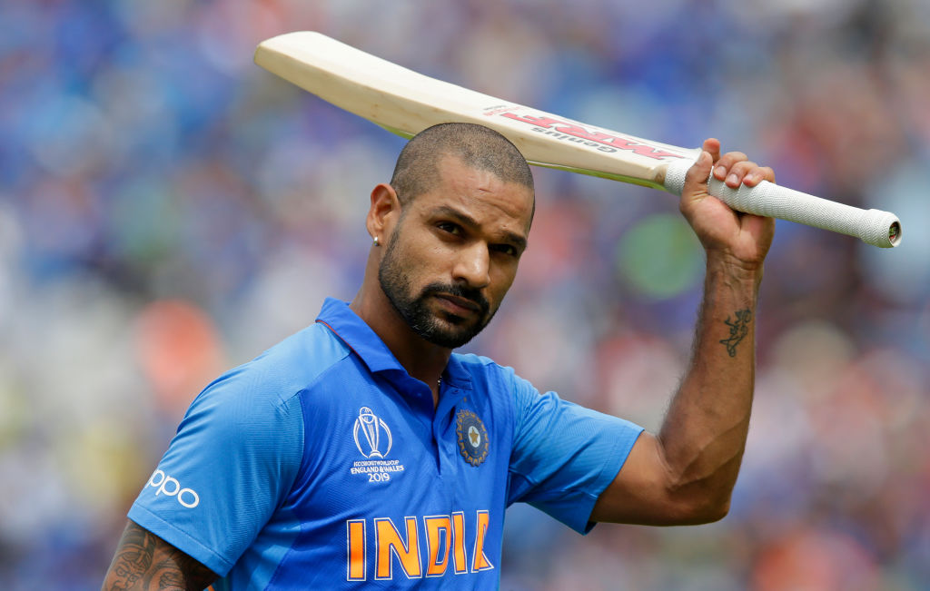 WATCH: Shikhar Dhawan works on his reflexes ahead of India's tour of West Indies