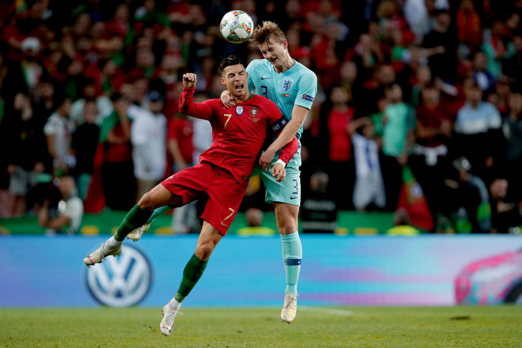 Cristiano Ronaldo clarifies about his alleged influence in Matthijs De Ligt transfer