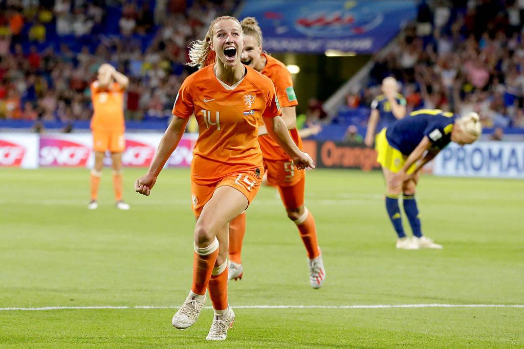Jackie Groenen goal Vs Sweden: Watch Dutch midfielder score a piledriver from outside the box
