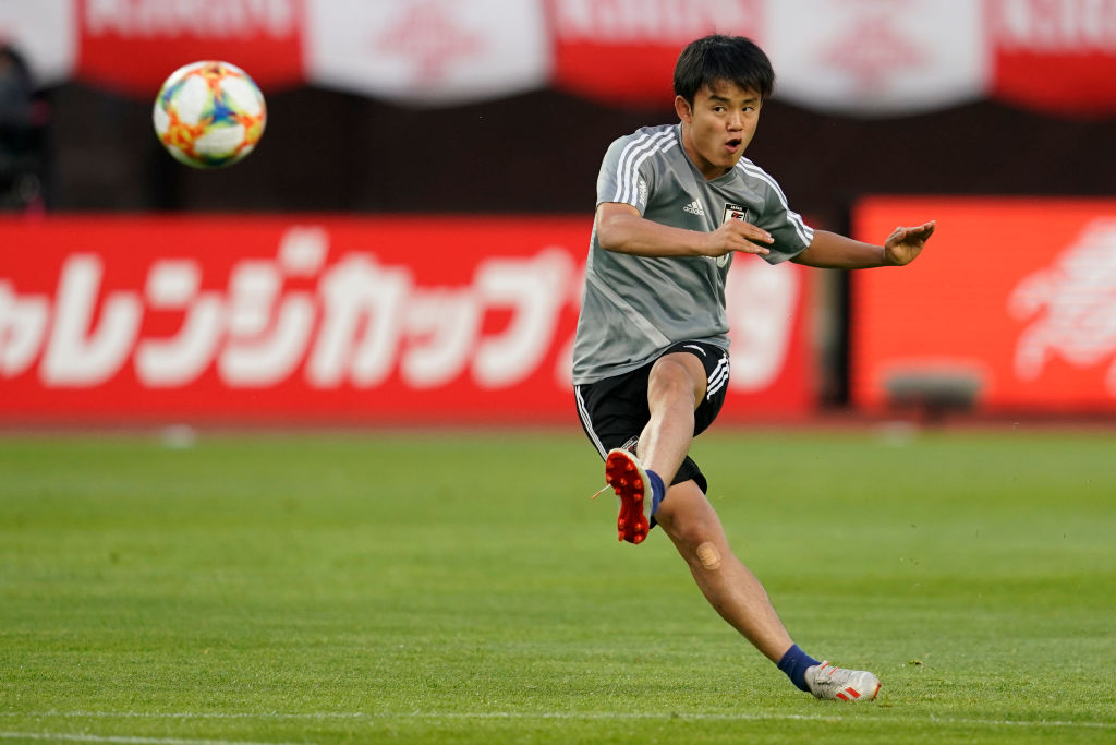 Watch: Takefusa Kubo scores spectacular individual goal during Real Madrid training