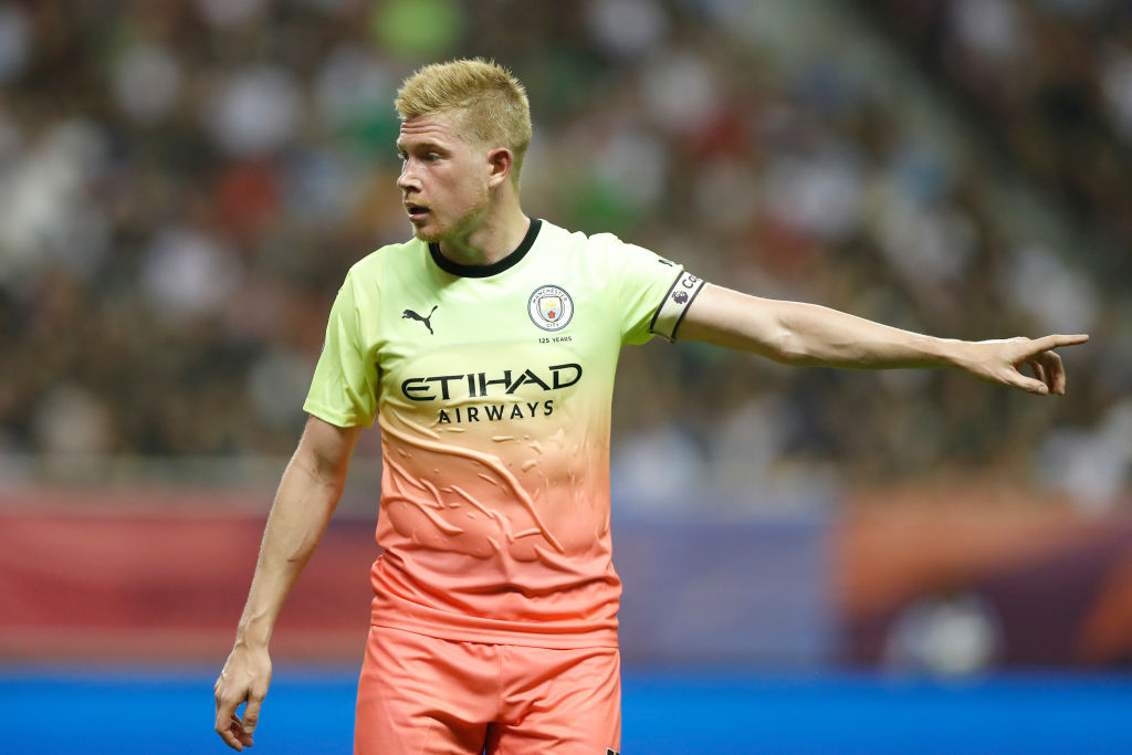Kevin De Bruyne makes incredible pass to call it as contender for best pass of the pre-season