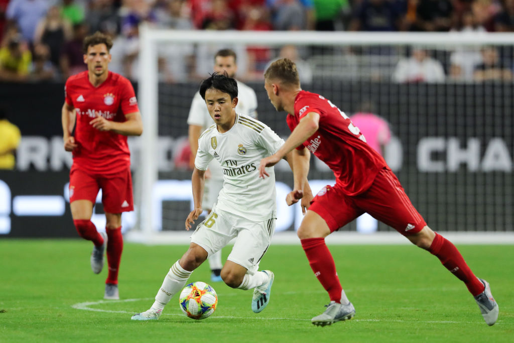 Watch: Takefusa Kubo shines brightly on his Real Madrid debut