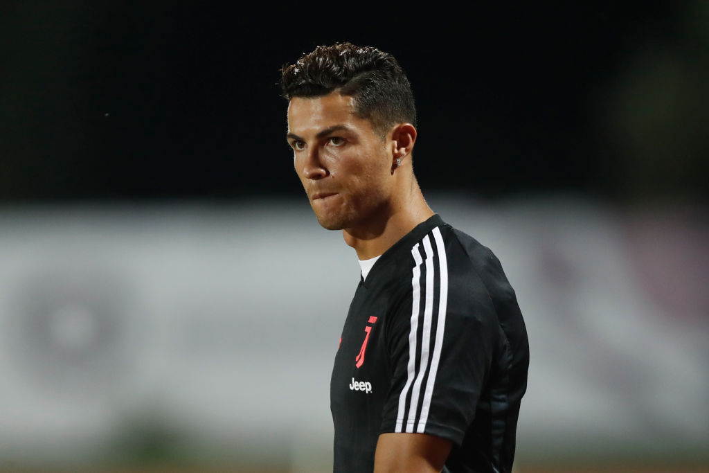 Juventus fans boo Cristiano Ronaldo and chant 'Messi, Messi'