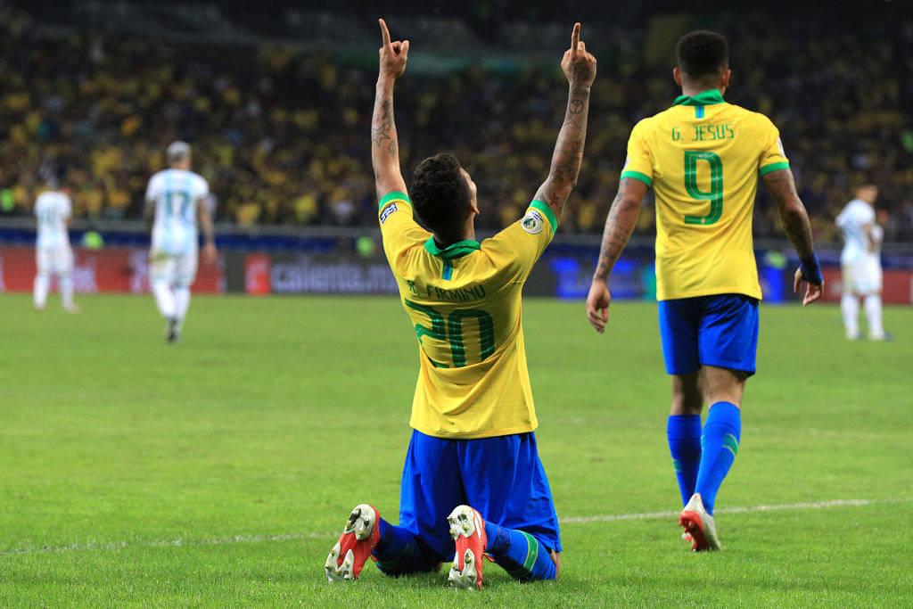 Roberto Firmino Goal Vs Argentina: Watch Roberto Firmino extend Brazil's lead in second half