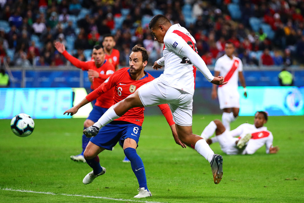 Edison Flores goal against Chile: Watch Peru gaining 1-0 lead over Chile to get into Finale