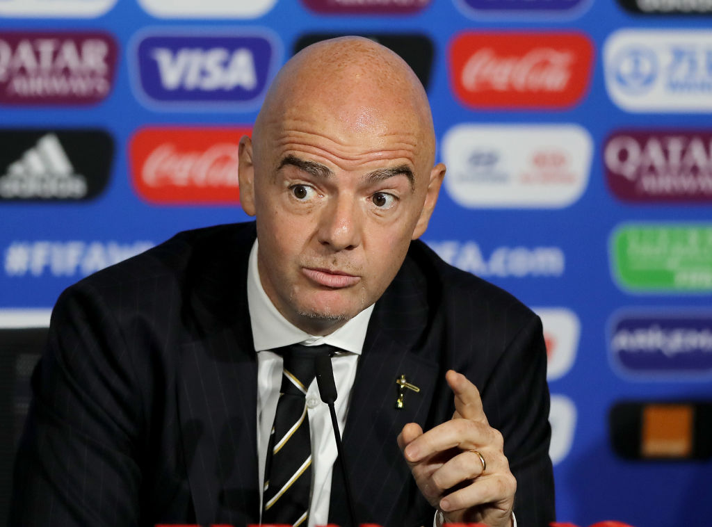 FIFA confirm referees can abandon games if players receive racist slurs