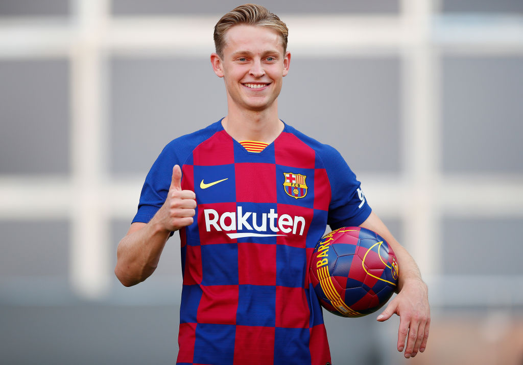 Arsenal News: Barcelona's new signing Frenkie De Jong reveals Gunners dream