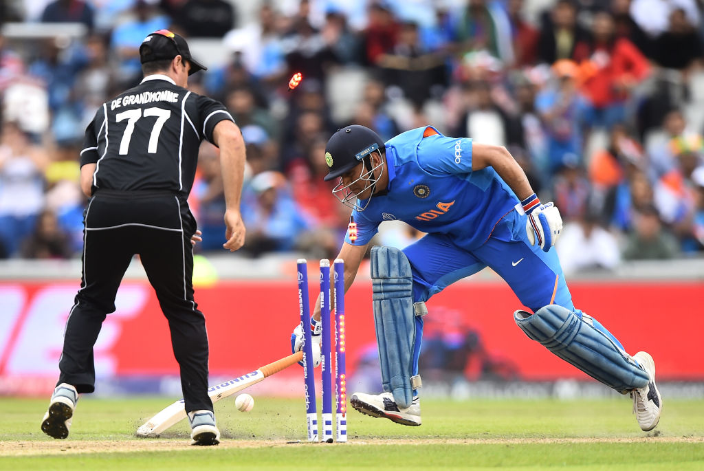 The truth behind MS Dhoni's run out in the world cup semi-final against New Zealand.