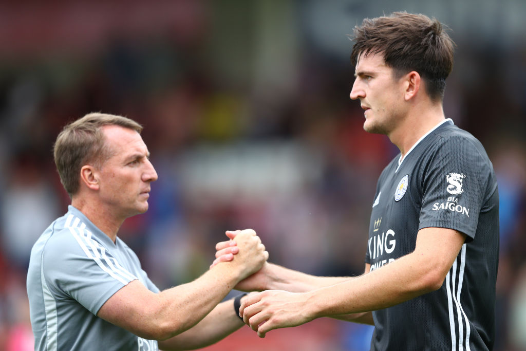Man Utd Transfer News: Brendan Rodgers throws huge hint at Harry Maguire transfer to Red Devils