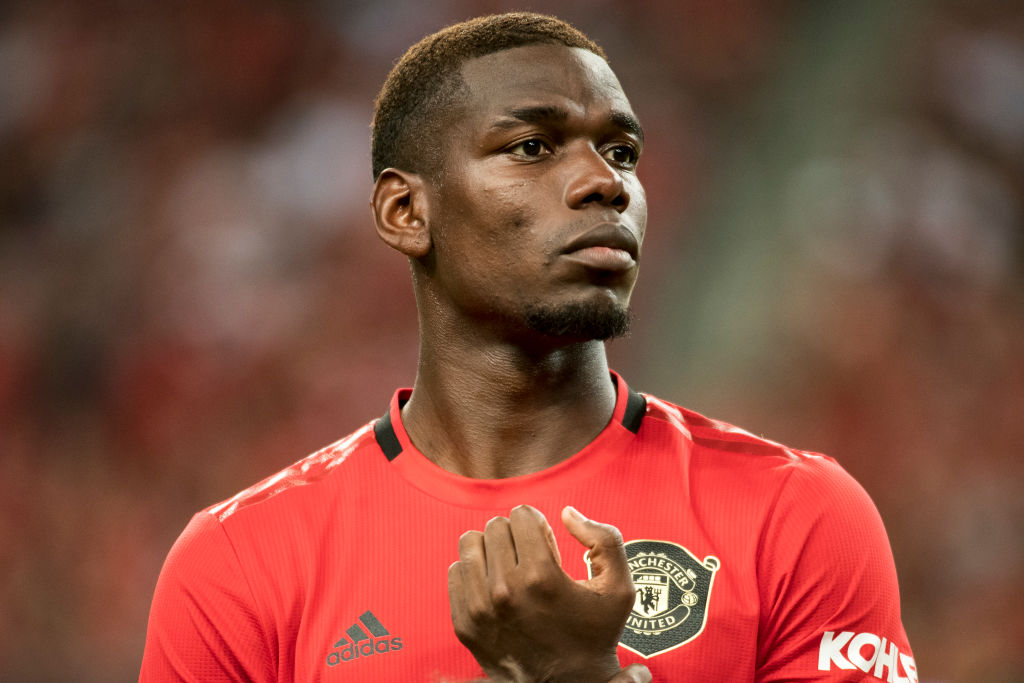 Paul Pogba reveals whom to follow to become a top footballer
