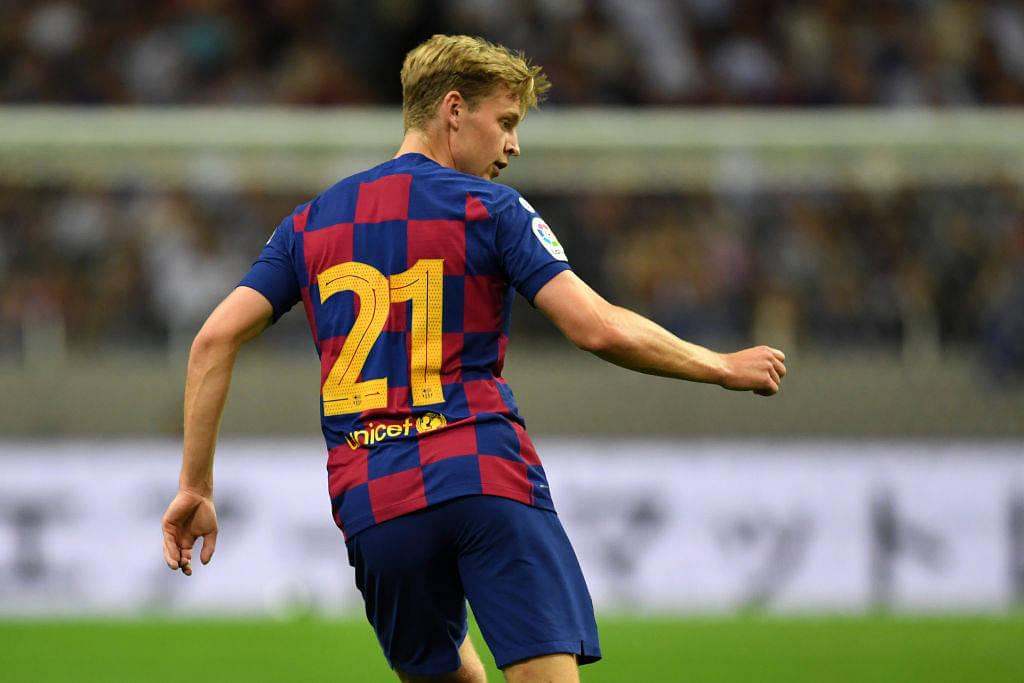 Frenkie De Jong's individual highlights of his debut for Barcelona prove his caliber
