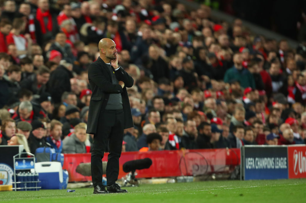 Pep Guardiola: Man City manager explains the uniqueness about Anfield atmosphere
