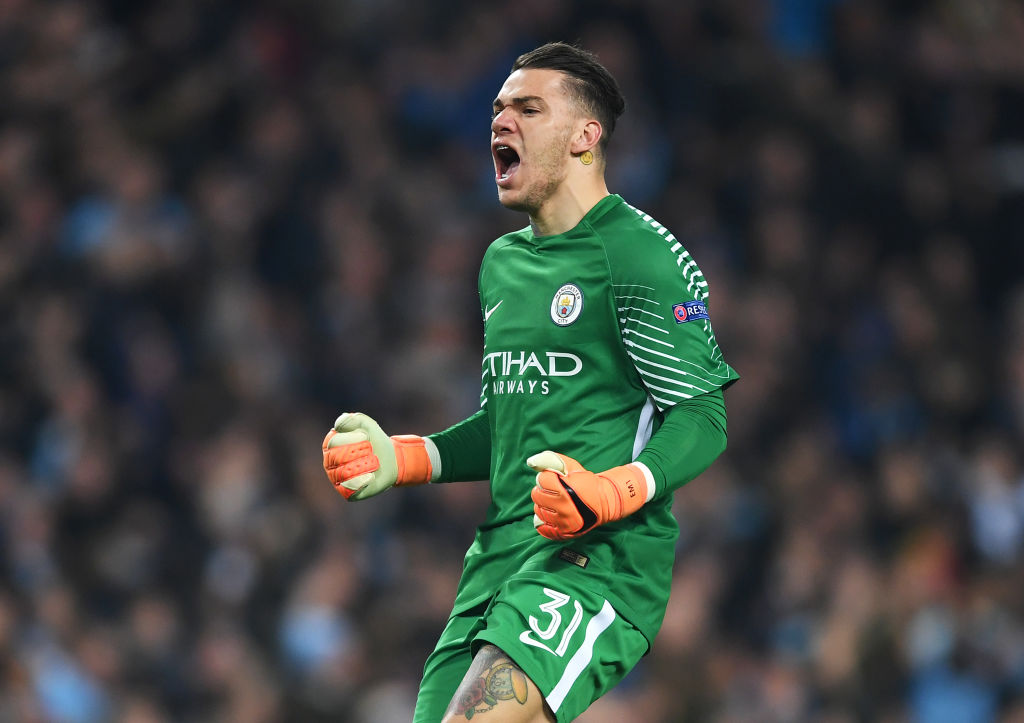 Watch: Man City Goalkeeper Ederson plays in Midfield and scores 2 goals