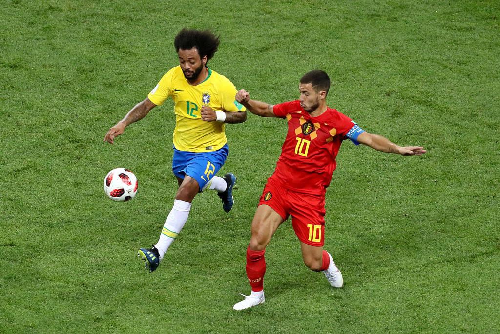 Eden Hazard: Marcelo prefers Brazilian teammate over Hazard at Real Madrid