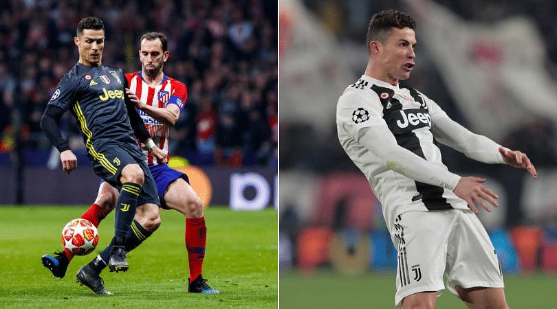 Diego Godin slams Cristiano Ronaldo over lack of respect in Champions League