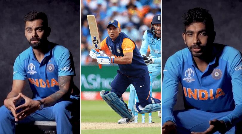 Virat Kohli and Jasprit Bumrah eulogize about MS Dhoni ahead of 2019 World Cup semi-final