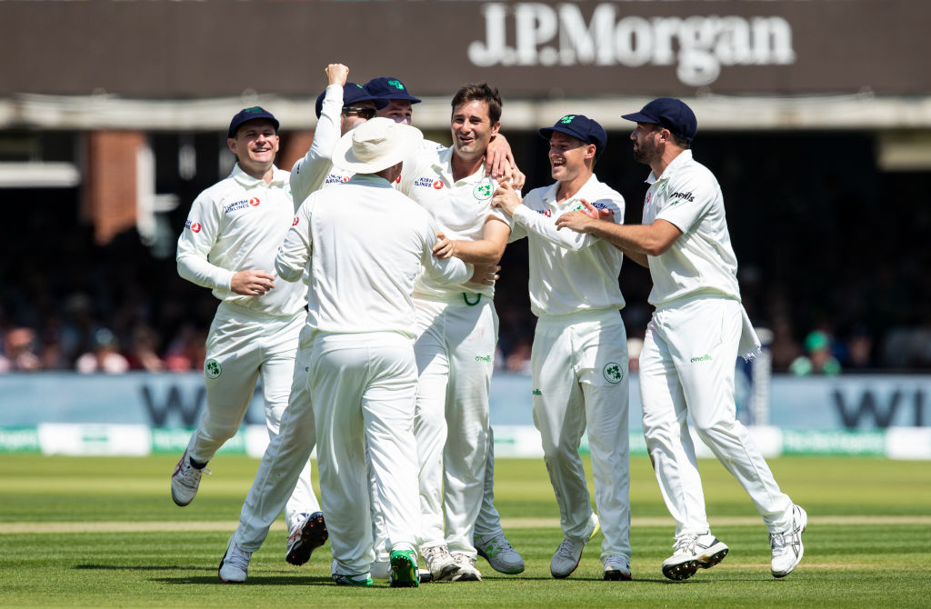 Twitter reactions on Ireland reducing England to 43/7 in one-off Test at Lord's