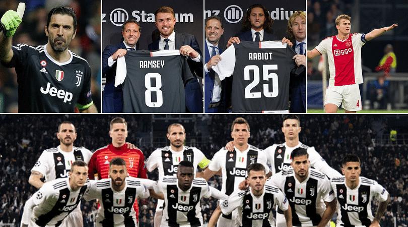 Juventus have phenomenal squad depth for upcoming season