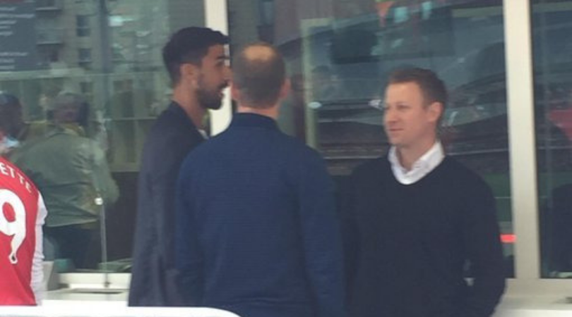 Arsenal Transfer News: Sami Khedira spotted at the Emirates stadium amidst transfer speculations