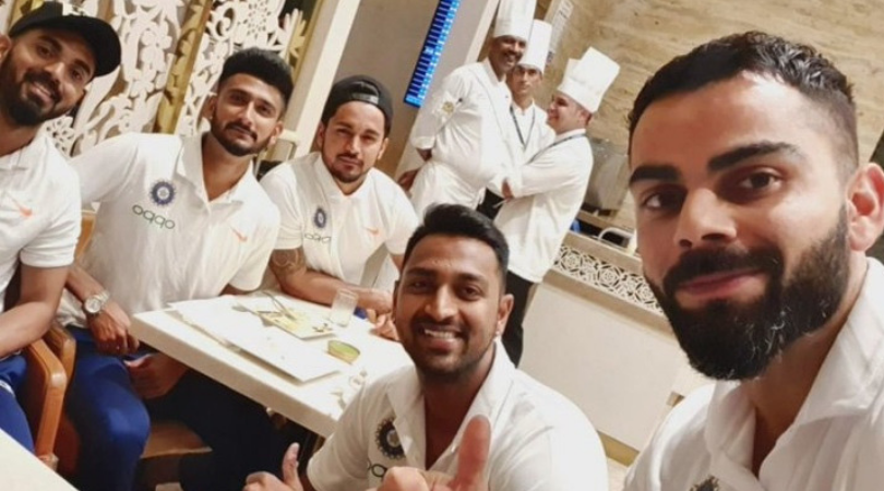 Virat Kohli and other teammates depart for tour of West Indies