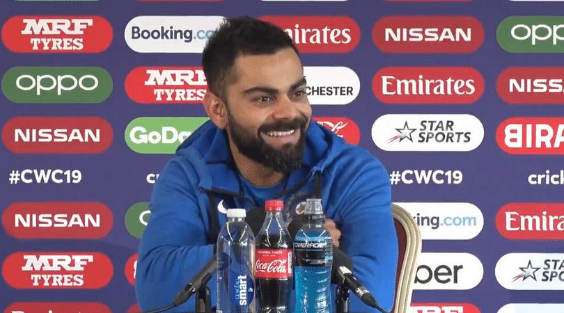 WATCH: Virat Kohli's amusing response on India's flexible batting unit in 2019 Cricket World Cup