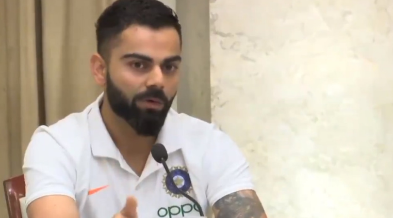 Virat Kohli gives hilarious reply while addressing India's middle-order issues ahead of West Indies tour