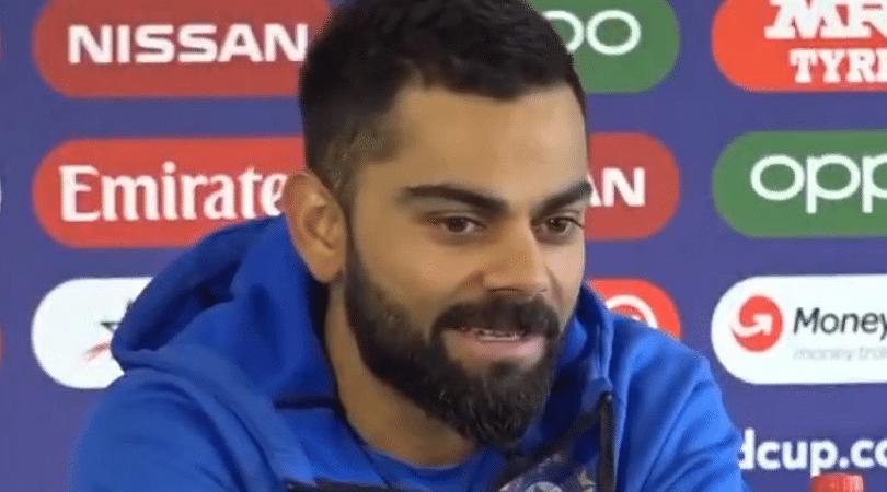 WATCH: Virat Kohli hints playing 'surprise bowler' in 2019 World Cup semi-final vs New Zealand