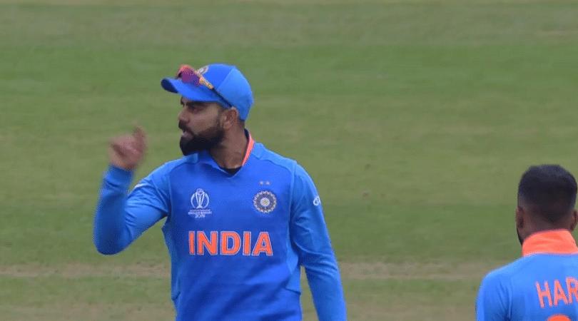 WATCH: Virat Kohli gives send-off to Soumya Sarkar during Bangladesh vs India 2019 World Cup match