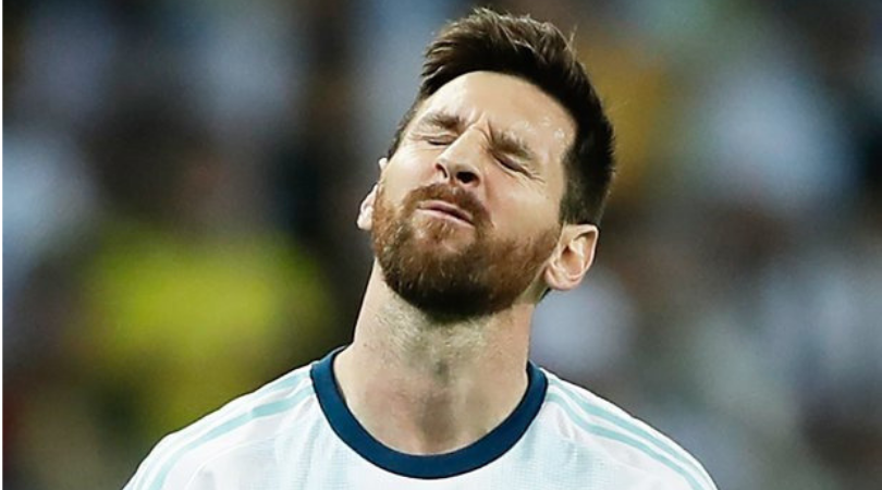 Watch: Lionel Messi makes no effort while pressing in the Copa America Semis