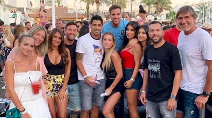 Watch: Lionel Messi almost gets into a fight at a party in Ibiza before security step in