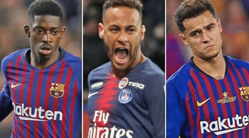 Barcelona Transfer News: Barcelona offer Coutinho and Dembele for Neymar